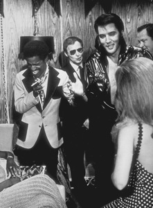 Elvis Presley and Sammy Davis Jr.1970 - Image 0818_0078