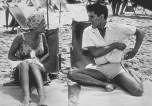 "Elvis Presley and Joan Blackmanin ""Blue Hawaii""1961 Paramount - Image 0818_0083"