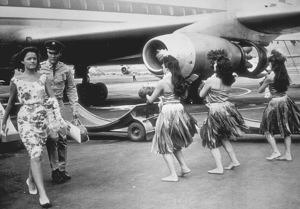 "Elvis Presley and Joan Blackmanin ""Blue Hawaii""1961 Paramount - Image 0818_0084"