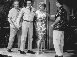 "Elvis Presley, Roland Winers andAngela Lansbury in ""Blue Hawaii""1961 Paramount - Image 0818_0086"
