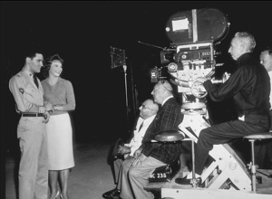 """Elvis Presley and Juliet Prowsefilming """"G.I. Blues""""1960 Paramount - Image 0818_0088"""