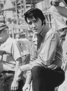 "Elvis Presley on the set of ""Change of Habit""1969 Universal - Image 0818_0094"