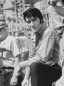 "Elvis Presley on the set of ""Change of Habit""1969 Universal - Image 0818_0094"