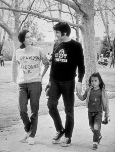 "Elvis Presley,  Mary Tyler Moore and Lorena Kirk on the set of ""Change of Habit""1969 Universal - Image 0818_0095"