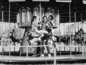 "Elvis Presley,  Mary Tyler Moore and Lorena Kirk on the set of ""Change of Habit""1969 Universal - Image 0818_0096"
