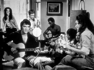 "Elvis Presley on the set of ""Change of Habit""1969 Universal - Image 0818_0098"