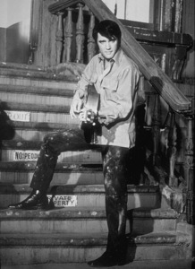 "Elvis Presley on the set of ""Change of Habit""1969 Universal - Image 0818_0099"