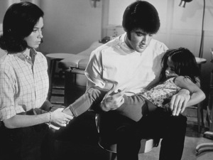 "Elvis Presley,  Mary Tyler Moore and Lorena Kirk on the set of ""Change of Habit""1969 Universal - Image 0818_0101"