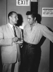 "Elvis Presleyon the set""Love me Tender""1956 20th Century Fox - Image 0818_0102"