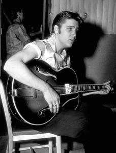 "Elvis Presley on the set""Love me Tender""1956 20th Century Fpx - Image 0818_0103"