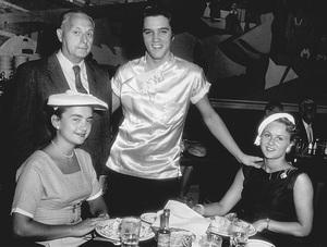 """Elvis Presley on a break""""Love me Tender""""1956 20th Century Fox - Image 0818_0104"""