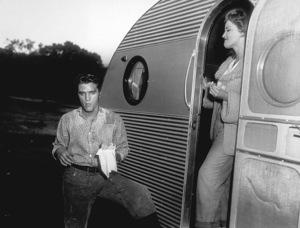 """Elvis Presley and Debra Paget""""Love me Tender""""1956 20th Century Fox - Image 0818_0105"""
