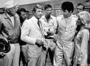 "Elvis Presley, Carl Ballantine and Bill Bixby in ""Speedway""1968 MGM - Image 0818_0107"