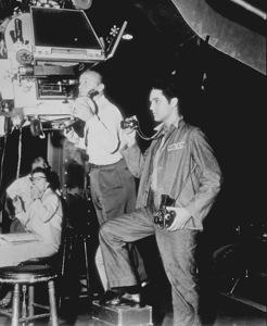 "Elvis Presley during the filmingof ""Jailhouse Rock""1957 MGM - Image 0818_0116"