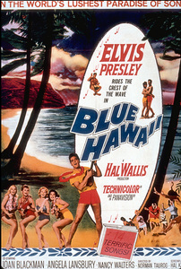 "Elvis Presley poster for""Blue Hawaii""; 1961 - Image 0818_0122"