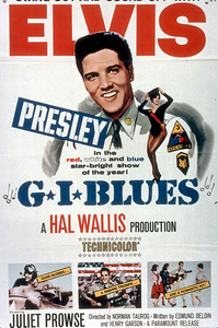 "Elvis Presley poster for""G.I. Blues""; 1960 - Image 0818_0123"