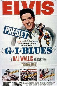 """Elvis Presley poster for""""G.I. Blues""""; 1960 - Image 0818_0123"""