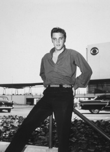 """Elvis Presley in Los Angelesfor an appearance on """"The Ed Sullivan Show"""" 9-9-56Photo by Gabi Rona - Image 0818_0405"""