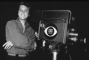 """Elvis Presley in Los Angeles, for appearance on """"The Ed Sullivan Show,"""" 9/9/56.Photo by Gabi Rona - Image 0818_0408"""