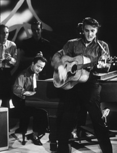 """Elvis Presley in Los Angeles, for appearance on """"The Ed Sullivan Show,"""" 9/9/56.Photo by Gabi Rona - Image 0818_0409"""