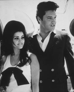 Elvis Presley and Priscilla Presley, 1967. - Image 0818_0431