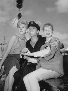 "Elvis Presley, Stella Stevens, Laurel Goodwin""Girls, Girls, Girls,"" 1962. - Image 0818_0494"