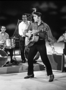 "Elvis Presley appearing on ""The Ed Sullivan Show"" inLos Angeles 5-9-56Photo by Gabi Rona - Image 0818_0526"
