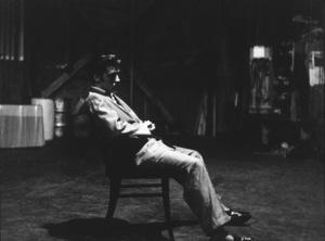 Elvis Presley during a performance break, L.A. , 1956. Photo: Ernest Reshovsky © 1978 Marc Reshovsky - Image 0818_0530