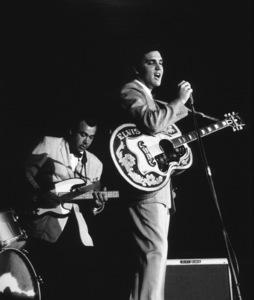 Elvis Presley performing in L.A., 1956. Photo: Ernest Reshovsky © 1978 Marc Reshovsky - Image 0818_0533