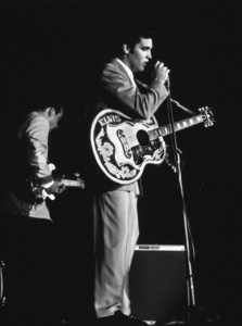 Elvis Presley, 1956 L.A. performance. Photo: Ernest Reshovsky © 1978 Marc Reshovsky - Image 0818_0542