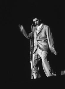 Elvis Presley during a 1956 L.A. performance. Photo: Ernest Reshovsky © 1978 Marc Reshovsky - Image 0818_0553