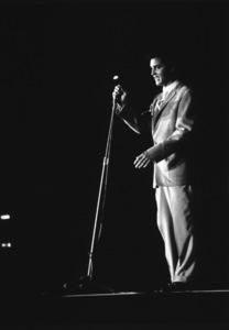 Elvis Presley during a 1956 L.A. performance. Photo: Ernest Reshovsky © 1978 Marc Reshovsky - Image 0818_0554