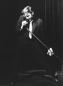 Elvis Presley during a 1956 L.A. performance. Photo: Ernest Reshovsky © 1978 Marc Reshovsky - Image 0818_0555
