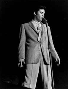 Elvis PresleyDuring a 1956 Performance in L.A.,Ca.Photo by Ernest Reshovsky © 1978 Marc Reshovsky - Image 0818_0560