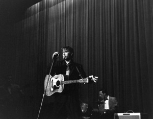 Elvis PresleyDuring a 1956 Performance in L.A.,Ca.Photo by Ernest Reshovsky © 1978 Marc Reshovsky - Image 0818_0562