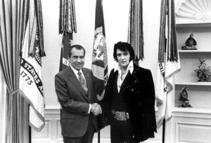 Elvis Presley, Richard Nixon, early 1970s, **I.V. - Image 0818_0593