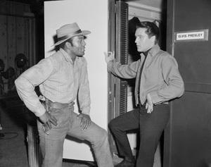 """""""Roustabout""""Elvis Presley, Jim Brown1964** I.V. - Image 0818_0636"""