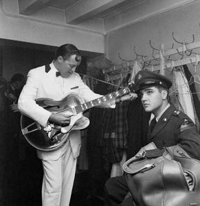 Elvis Presley and Bill Haleycirca 1958** I.V. - Image 0818_0654