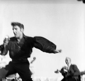 Elvis Presley performing in Tupelo, Mississippi1956 © 1978 Roy Cummings - Image 0818_0668