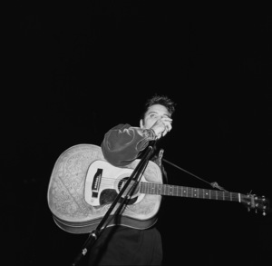 Elvis Presley performing in Tupelo, Mississippi1956 © 1978 Roy Cummings - Image 0818_0670