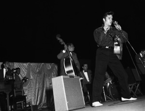 Elvis Presley performing in Tupelo, Mississippi1956 © 1978 Roy Cummings - Image 0818_0677
