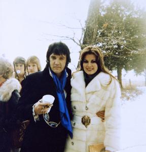 Elvis Presley and Ginger Aldencirca 1970s© 1978 Gary Lewis - Image 0818_0687