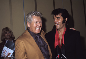 Elvis Presley with his father Vernon1969© 1978 Gary Lewis - Image 0818_0689