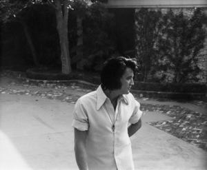 Elvis Presley in his drivewaycirca 1970s© 1978 Gary Lewis - Image 0818_0699