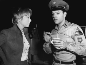 """G.I. Blues"" Elvis Presley meets Shirley MacLaine at Paramount1960 ** I.V. - Image 0818_0721"