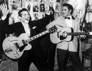 Elvis Presley and Lee Liberacecirca 1950s** I.V.M. - Image 0818_0734