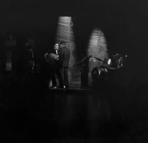 "Elvis Presley with Ed Sullivan on ""The Ed Sullivan Show""1956 © 1978 Roy Cummings - Image 0818_0757"