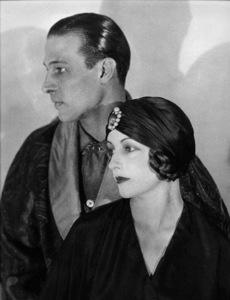 Rudolph Valentino & Natasha RambovaCirca 1924Photo By Russell Ball**I.V. - Image 0819_0322