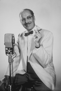 """Groucho Marx for """"You Bet Your Life"""" circa 1955 © 1978 Paul Hesse - Image 0820_0102"""