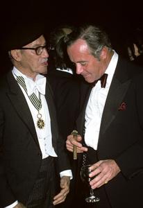 Groucho Marx and Jack Lemmon1977 © 1978 Ulvis Alberts - Image 0820_0445